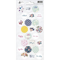 P13 - When We First Met Collection - Cardstock Sticker Sheet - Three