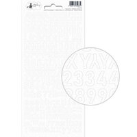 P13 - New Moon Collection - Cardstock Alphabet Sticker Sheet - One