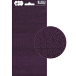 P13 - New Moon Collection - Cardstock Alphabet Sticker Sheet - Two