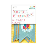 P13 - Happy Birthday Collection - Double Sided Die Cut Garland