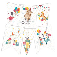 P13 - Happy Birthday Collection - Double Sided Big Die Cut Garland