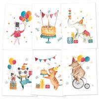 P13 - Happy Birthday Collection - Mini Poster Set
