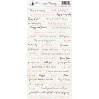 P13 - Awakening Collection - Cardstock Sticker Sheet - One