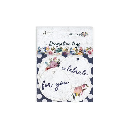 P13 - When We First Met Collection - Embellishments - Tag Set - Four