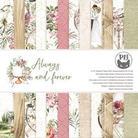 P13 - Always and Forever Collection - 6 x 6 Paper Pad
