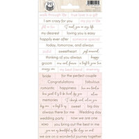 P13 - Always and Forever Collection - Cardstock Stickers - Sheet 01