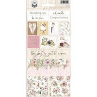 P13 - Always and Forever Collection - Cardstock Stickers - Sheet 02