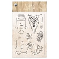 P13 - Always and Forever Collection - Clear Photopolymer Stamps
