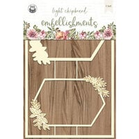 P13 - Always and Forever Collection - Chipboard Embellishments - Set 03
