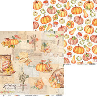 P13 - The Four Seasons Collection - 12 x 12 Double Sided Paper - Autumn 02