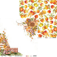 P13 - The Four Seasons Collection - 12 x 12 Double Sided Paper - Autumn 04