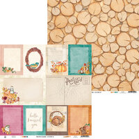 P13 - The Four Seasons Collection - 12 x 12 Double Sided Paper - Autumn 05