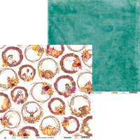 P13 - The Four Seasons Collection - 12 x 12 Double Sided Paper - Autumn 06