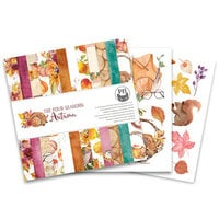 P13 - The Four Seasons Collection - 6 x 6 Paper Pad - Autumn