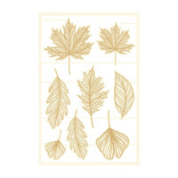 P13 - The Four Seasons Collection - Chipboard Embellishments - Autumn Set 01