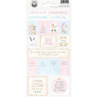 P13 - Baby Joy Collection - Cardstock Sticker Sheet - Two
