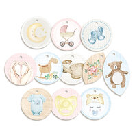 P13 - Baby Joy Collection - Embellishments - Decorative Tags - One