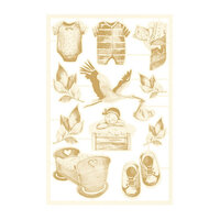 P13 - Baby Joy Collection - Chipboard Embellishments - Set 01