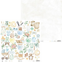 P13 - Baby Joy Collection - 12 x 12 Double Sided Paper - 07b