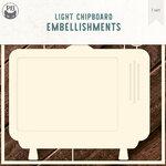P13 - Chipboard Embellishments - TV