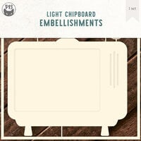 P13 - Chipboard Embellishments - TV