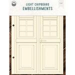 P13 - Chipboard Embellishments - Door
