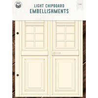 P13 - Chipboard Embellishments - Door