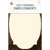 P13 - Chipboard Embellishments - Large Tags - Set 05