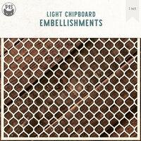 P13 - Chipboard Embellishments - Background - Set 01