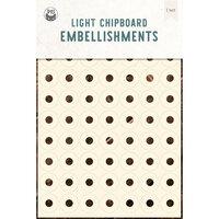 P13 - Chipboard Embellishments - Reinforcers - Set 01
