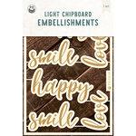P13 - Chipboard Embellishments - Words - Set 01