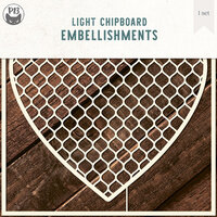 P13 - Chipboard Embellishments - Background - Set 02