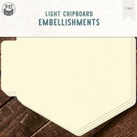 P13 - Chipboard Album Base - 6 x 6 Hexagon