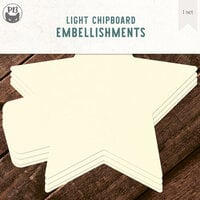 P13 - Chipboard Album Base - 6 x 6 Star