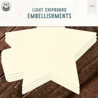 P13 - Chipboard Album Base - 6 x 6 Star