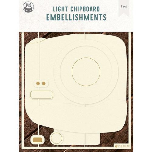 P13 - Chipboard Embellishments - Album Base - Photo 02