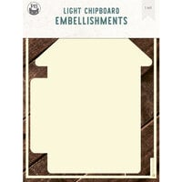 P13 - Chipboard Embellishments - Album Base - Home Set 01 - Refill