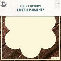 P13 - Chipboard Embellishments - Deco Base - Flower