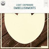 P13 - Chipboard Embellishments - Deco Base - Tulip