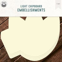 P13 - Chipboard Embellishments - Album Base - Tulip