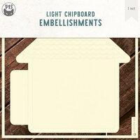 P13 - Chipboard Embellishments - Album Base - Home Set 02