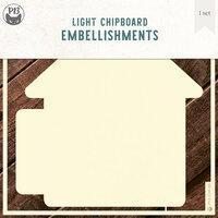 P13 - Chipboard Embellishments - Album Base - Home Set 02 - Refill