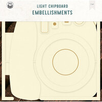 P13 - Light Chipboard Embellishments - Album Base - 12 x 12 Photo