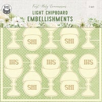 P13 - First Holy Communion Collection - Chipboard Embellishments 02