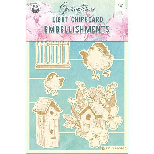 P13 - Springtime Collection - Chipboard Embellishments - Springtime 3
