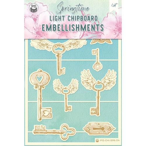P13 - Springtime Collection - Chipboard Embellishments - Springtime 4