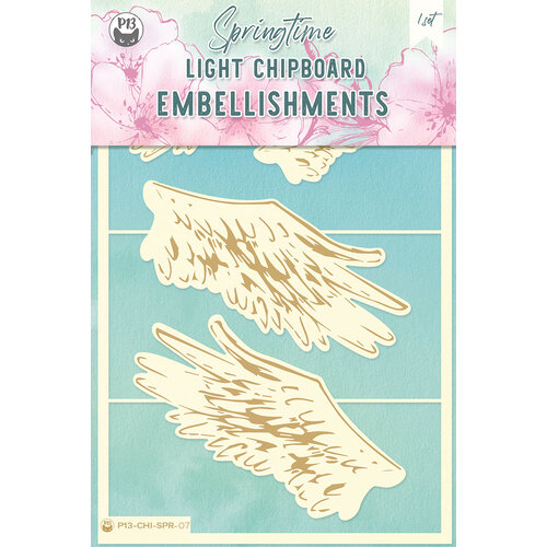 P13 - Springtime Collection - Chipboard Embellishments - Springtime 7