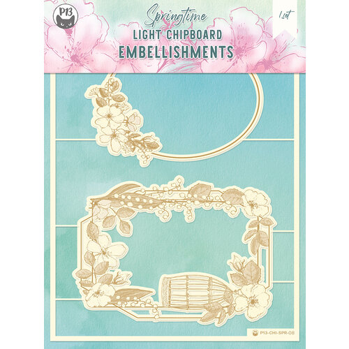 P13 - Springtime Collection - Chipboard Embellishments - Springtime 8