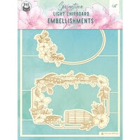 P13 - Springtime Collection - Chipboard Embellishments - Springtime 8