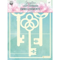 P13 - Springtime Collection - Chipboard Embellishments - Springtime 9
